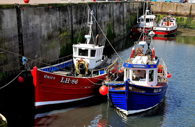 Fishing Boats Seahouses