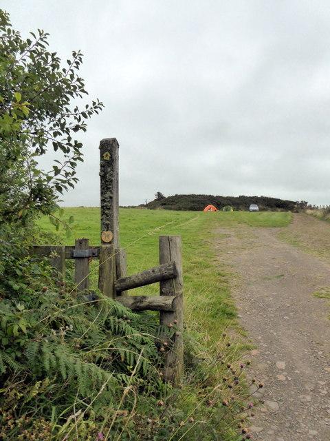 Footpath Sign, Bower Farm