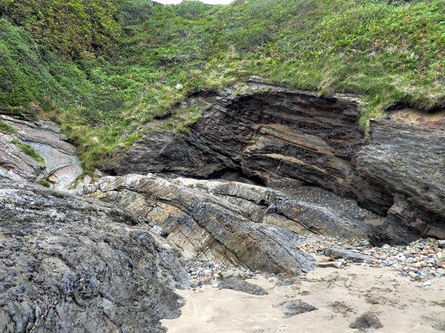 Coastal Rocks at Little Haven