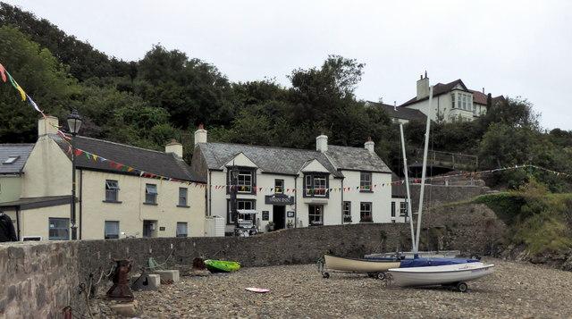 The Swan Inn, Little Haven