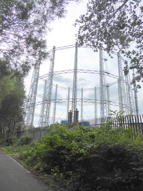 Gasometer at Dunston