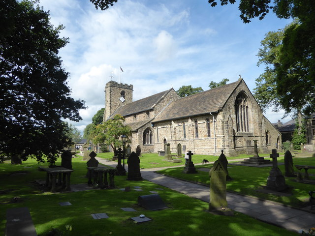 St Mary & All Saints, Whalley: mid August 2017