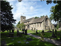 SD7336 : St Mary & All Saints, Whalley: mid August 2017 by Basher Eyre