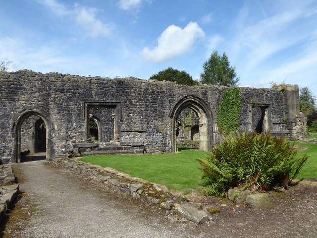 A fascinating visit to Whalley Abbey (1)