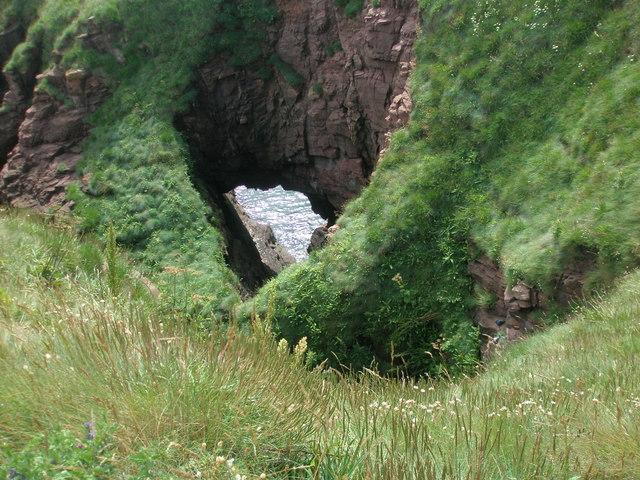 The Crusie, Seaton Cliffs, Arbroath
