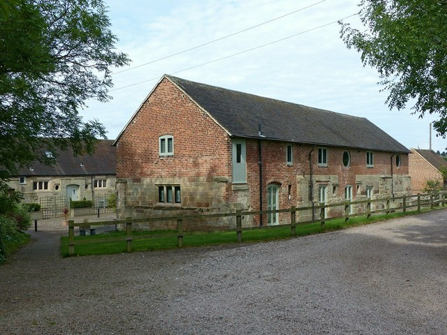 Converted outbuildings at St Thomas's Priory Farm
