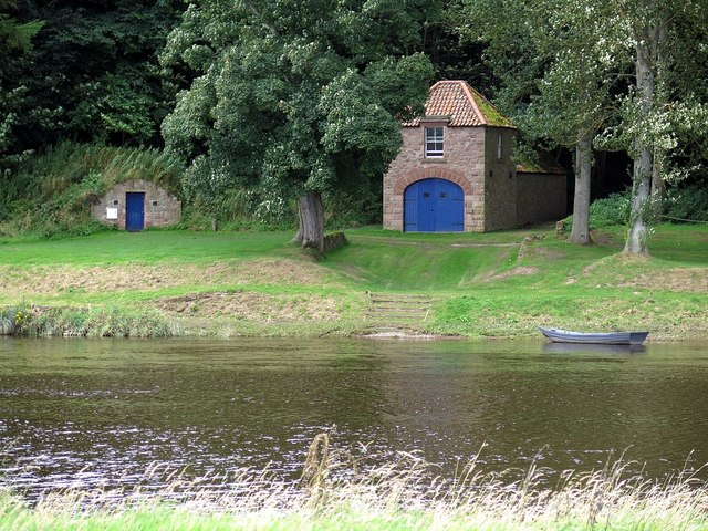 Boat house of Paxton House