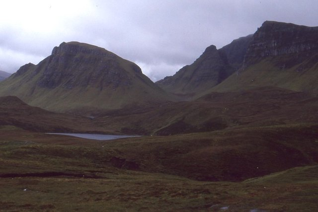 Trotternish landslip scenery