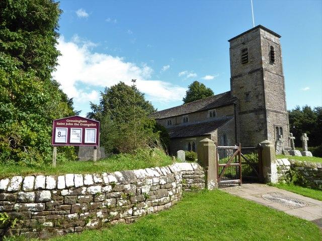St John the Evangelist, Gressingham: August 2017