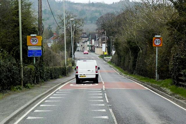 The Street (A483),Llanymynech,