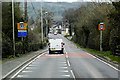 SJ2620 : The Street (A483),Llanymynech, by David Dixon