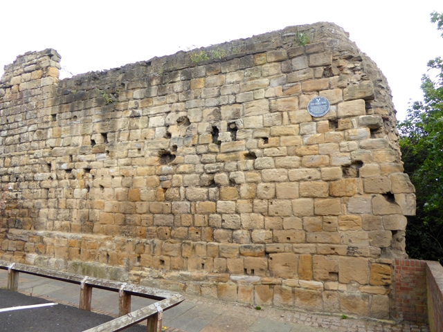 Fragment of the Newcastle Town Wall