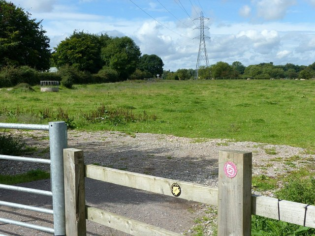 Footpath near Baswich