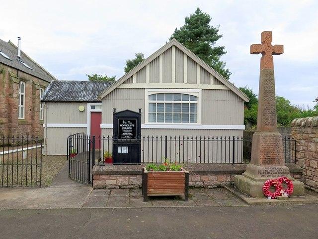 Horncliffe Church & War Memorial