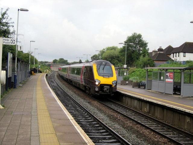 Filton Abbeywood Station Looking Towards Bristol