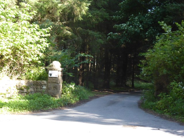 Access to Blelack House estate
