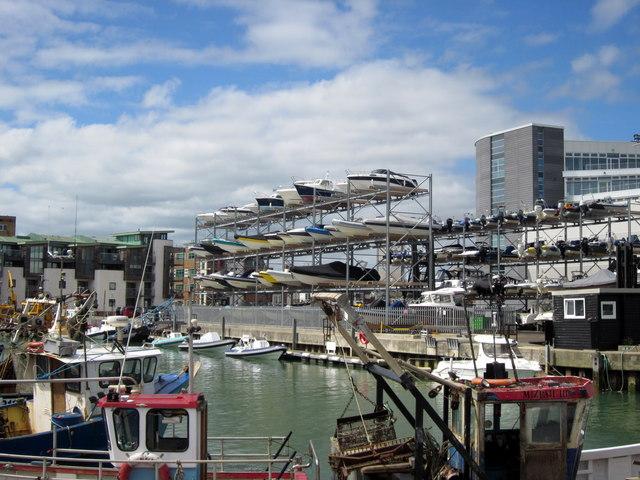 Multi-storey Boat Park Portsmouth