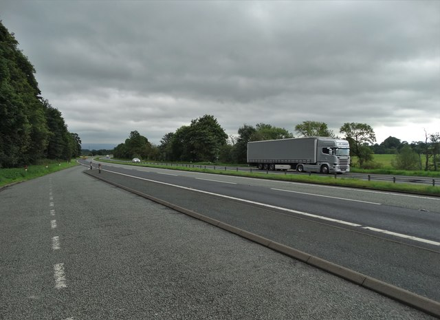 The A66 south of Penrith