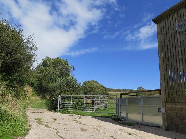 Middle Barn, Wroxall