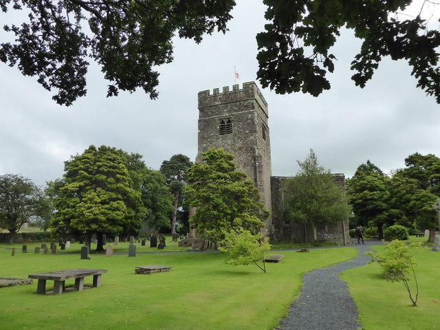 St John the Baptist, Tunstall: churchyard (a)