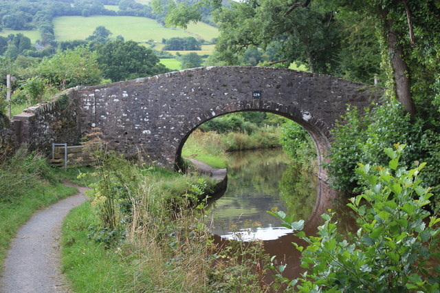 Bridge 129, Monmouthshire & Brecon Canal