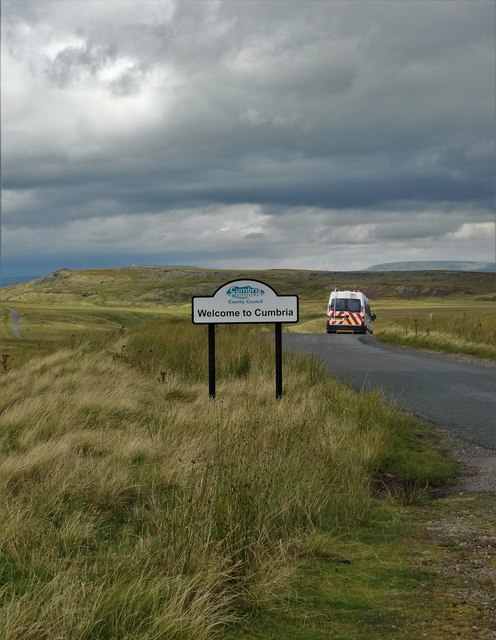 The Cumbria-Yorkshire boundary and Megson Brow