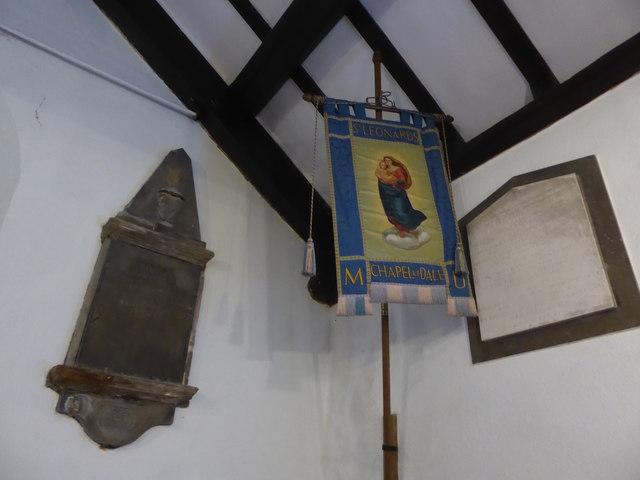 St. Leonard, Chapel-le-Dale: banner