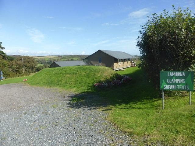 Lamorna Glamping site