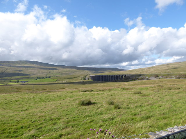 Ribblehead Viaduct: mid-August 2017