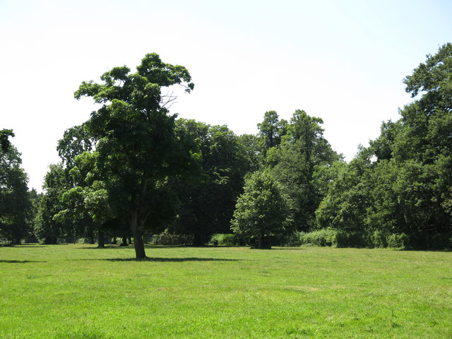 Part of Huntsmoor Park