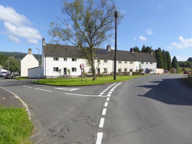 Houses at Kielder village