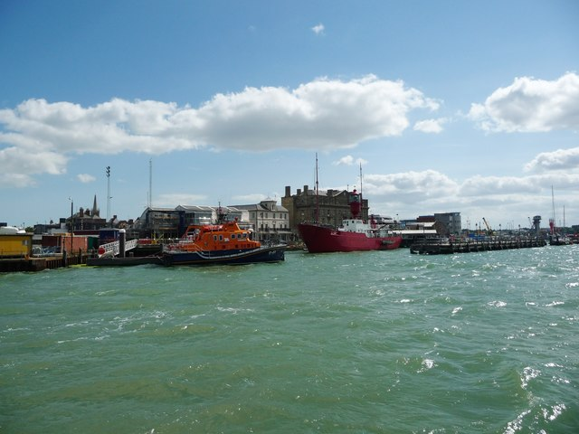 A harbour at Harwich