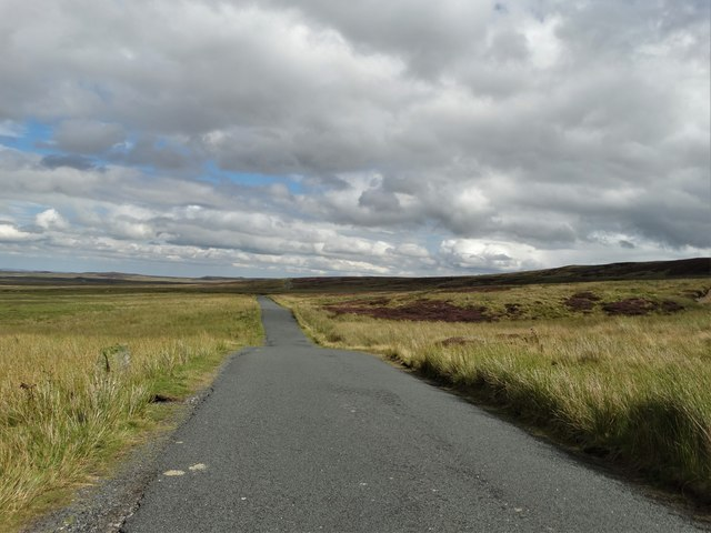 Long Causeway north east of Tan Hill