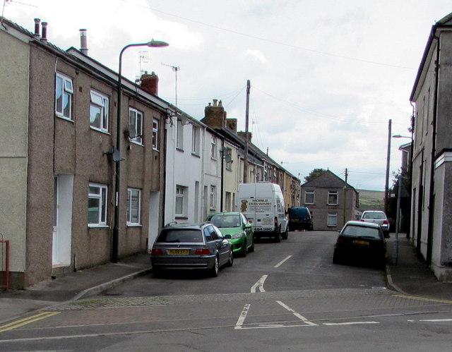 Gladstone Street, Brynmawr
