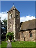 SO8090 : The tower of Bobbington church by Philip Halling