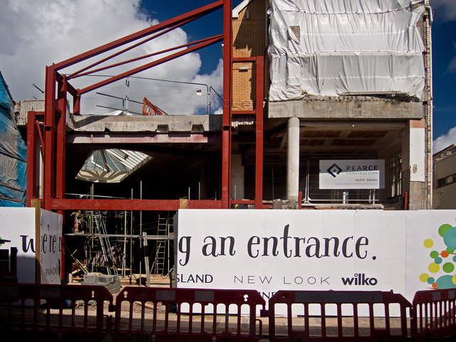 Redevelopment of The Green Lanes shopping centre entrance adjacent to Joy Street