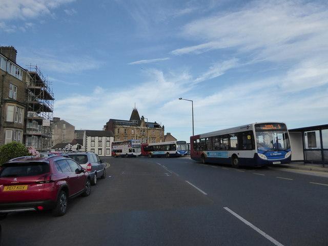 Buses in Marine Road
