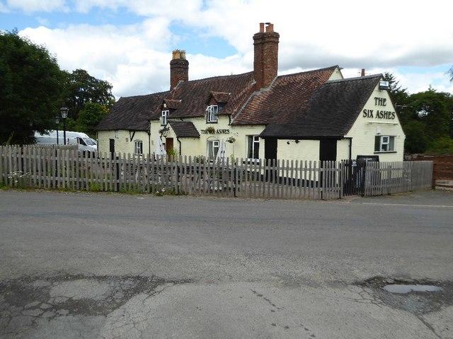 The Six Ashes pub