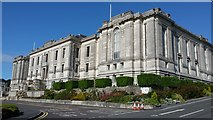 SN5981 : National library of Wales by Peter Mackenzie