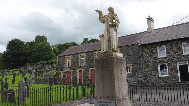 Statue of Daniel Rowland