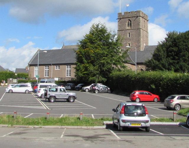 Grade I listed Church of St Mary, Abergavenny