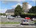 SO3014 : Grade I listed Church of St Mary, Abergavenny by Jaggery