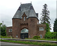 SO5620 : Gatehouse near Goodrich by Stephen Richards