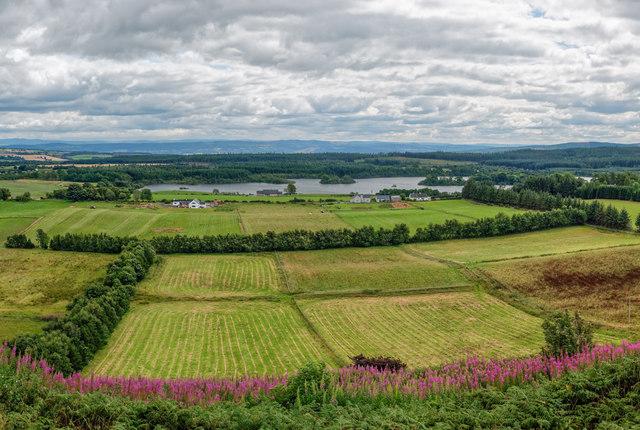 View over Loch Ussie