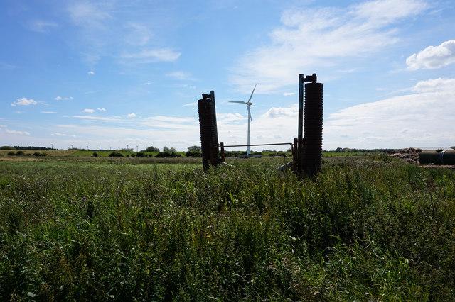 Wind turbine at Aike Carrs