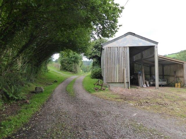 Barn near Ashilford