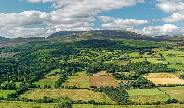 View from Knockfarrel