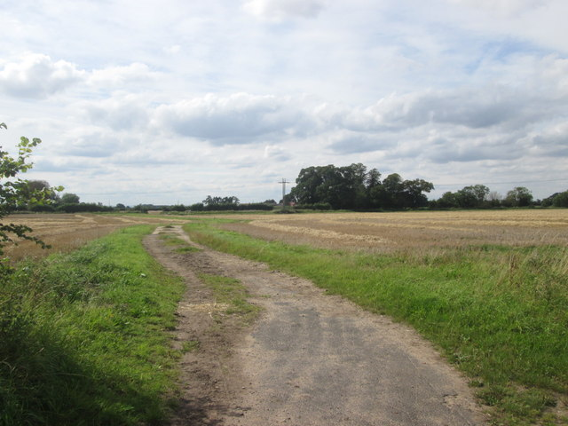 Track towards Home Farm