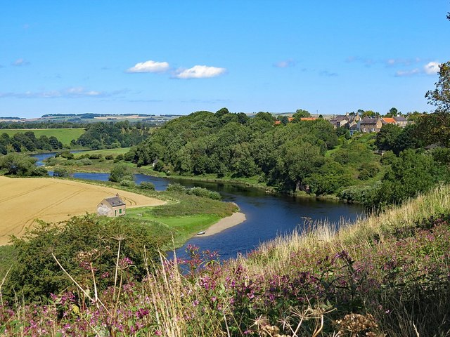 River Tweed at Horncliffe