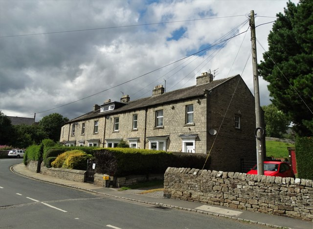 Terrace of houses to the east of Reeth